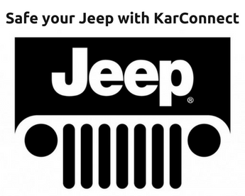 Where to fit the KarConnect device in your Jeep for safe drives