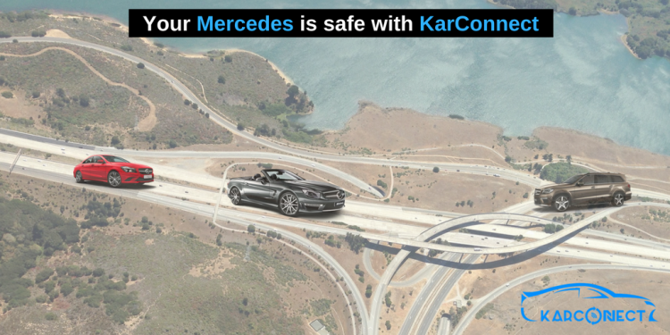 Locate the OBDII port of your Mercedes