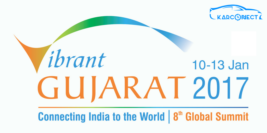 KarConnect proudly showcasing at Vibrant Gujarat Global Summit 2017